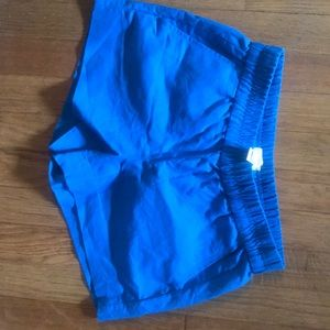 NWOT J crew shorts in a gorgeous blue